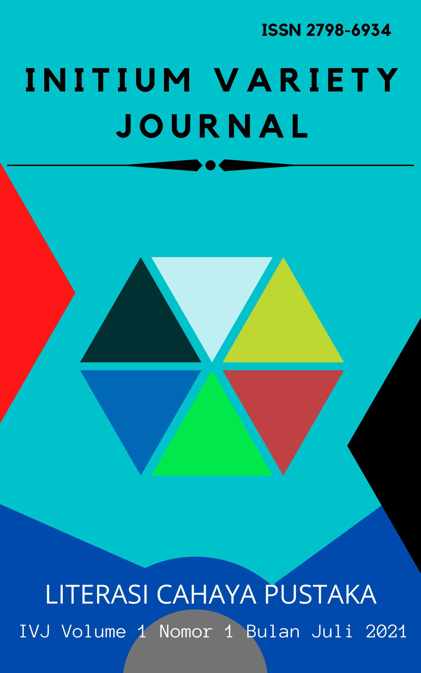 View Vol. 1 No. 1 (2021): Bulan Juli